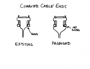 Cable End-Video Monitor Cable