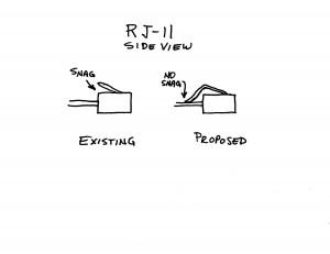 Proposed RJ-11 Redesign